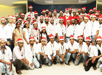 X'mas celebration at ServerAdminz